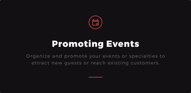 Promoting Events: Organize and promote your events or specialties to attract new guests or reach existing customers.  Download Rib-Eye — Steakhouse WordPress Theme nulled 11 ribeye promoting events